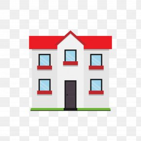 White Building - House Apartment Home Icon PNG