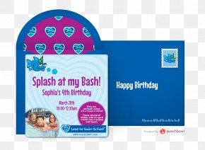 Party - Love To Swim School Children's Party Birthday PNG