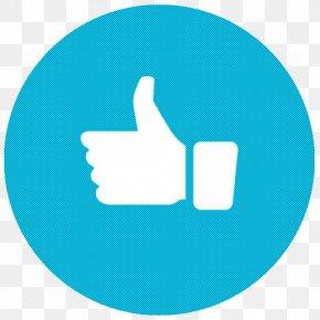 Technology Logo - Turquoise Aqua Blue Azure Finger PNG