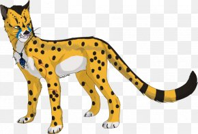 Cheetah Drawings Images - Cheetah Leopard Ocelot Lion Felidae PNG
