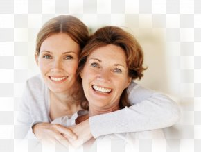 Mother, Mom And Daughter - Mother Daughter Therapy Cosmetic Dentistry Dermatology PNG