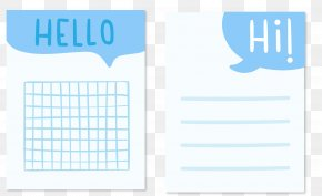 Hand-painted Background Blog HELLO - Blog Designer PNG