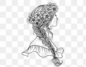 Coloring Pages - Drawing Coloring Book Braid Royalty-free PNG