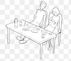Overeating At Buffet - /m/02csf Line Art Drawing Design Cartoon PNG