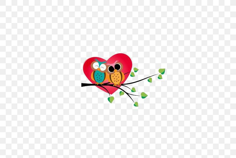 Valentine Owl Clipart - Full Size Clipart (#3987209) - PinClipart