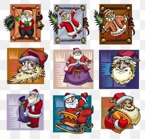 Santa Claus Creative - Santa Claus Ded Moroz Reindeer Christmas Ornament PNG