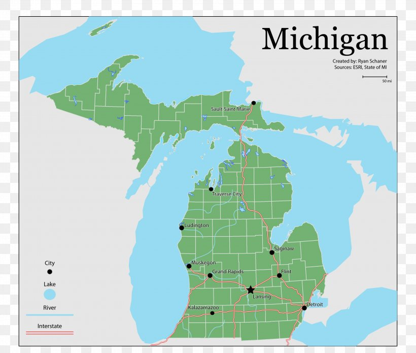 United States Presidential Election In Michigan, 2016 US ...