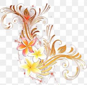 Plant Floral Design - Floral Flower Background PNG