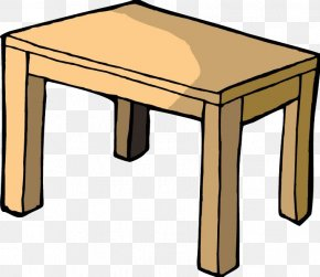 Table - Table Cartoon Chair Household Goods PNG