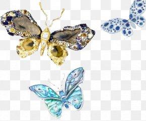 Jewelry - Butterfly Jewellery Gemstone PNG