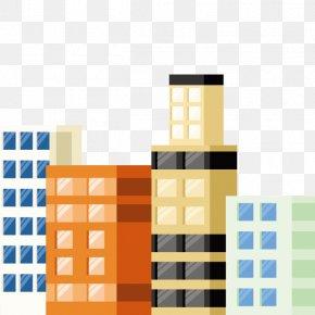 Vector Buildings - Facade Building Euclidean Vector PNG