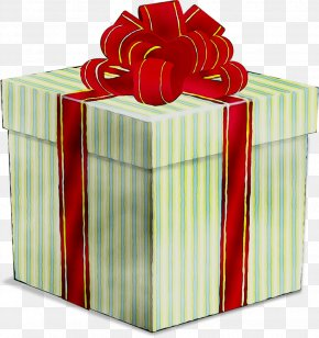 Gift Ribbon Box Transparency PNG