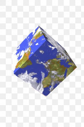 3D Cube Earth - History Of Geometry Curiosity History Of Geometry Humanities PNG