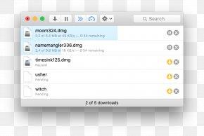 Folx - MacOS Internet Download Manager PNG