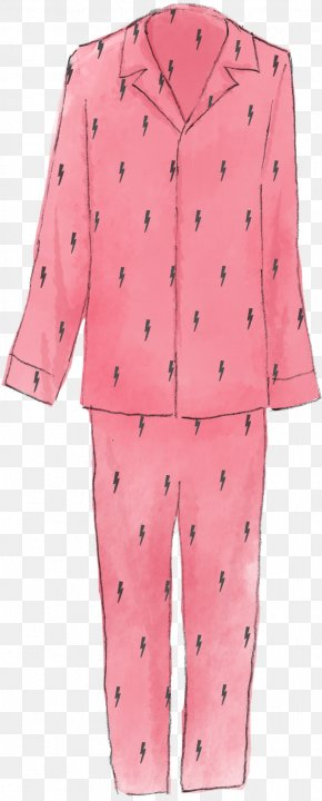 Button - Pajamas Button Outerwear Pink M Sleeve PNG