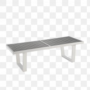 Stainless Steel Dinner Plate - Platform Bench Stainless Steel Metal Furniture PNG
