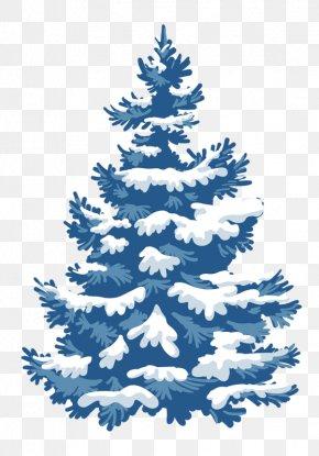 Snow Tree - Christmas Card Snow Christmas Tree PNG