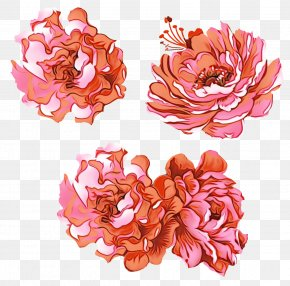 Peony Artificial Flower - Floral Flower Background PNG
