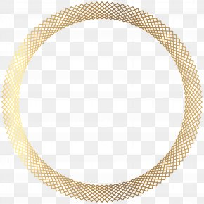 Deco Gold Round Border Transparent Clip Art - Image File Formats Lossless Compression PNG