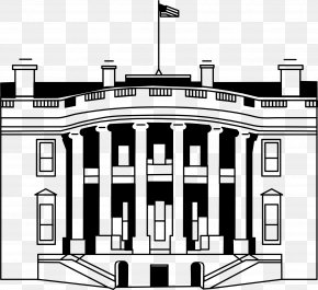 White House - White House Coloring Book President Of The United States Presidents' Day Drawing PNG