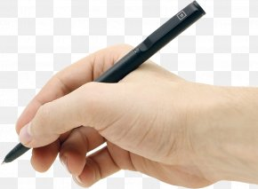 Pen In Hand Image - Ballpoint Pen Handwriting Clip Art PNG