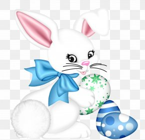 Transparent Easter Bunny And Egg Clipart Picture - Easter Bunny Western Christianity Resurrection Of Jesus Easter Egg PNG
