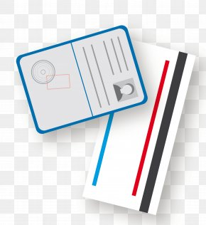Vector Passport Ticket Material - Flight Airline Ticket Aircraft Airplane Air Charter PNG