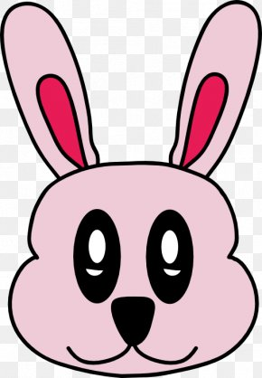 Easter Bunny Pink Background - Easter Bunny Domestic Rabbit Roger Rabbit Clip Art PNG