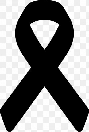 Black Ribbon National Day Of Mourning Death Condolences PNG