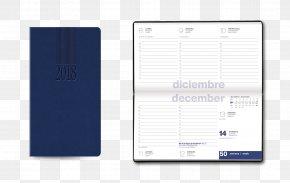 Notebook - Diary Calendar Notebook Paper Industrias Danpex PNG