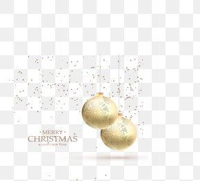 Fantasy Golden Christmas Balls - Christmas Ornament Snowflake Computer File PNG