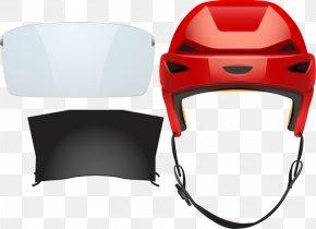 Red Helmet - Euclidean Vector Photography Helmet Illustration PNG