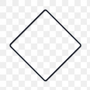 Blank Roadsign Icon - Geometric Shape Rhombus Geometry Perimeter Square PNG