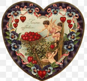 Victorian Valentines - Valentine's Day Heart February 14 Love PNG