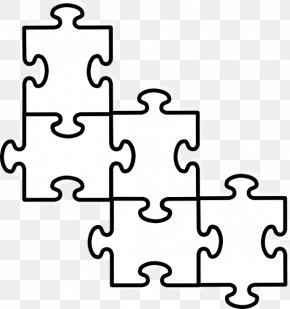 Large Puzzle Piece Template - Jigsaw Puzzle Puzzle Video Game Clip Art PNG