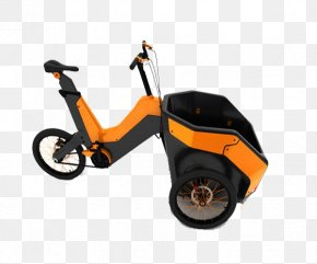Orange Simple Bike - Motorized Tricycle Tool Bicycle Cycling Industry PNG