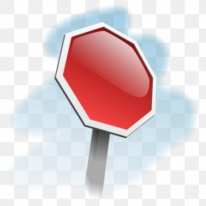 Stop Sign Template - Stop Sign Traffic Sign Clip Art PNG