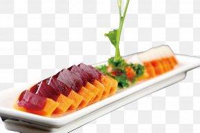 Color Papaya Frozen Dessert - Sashimi Dessert Recipe PNG