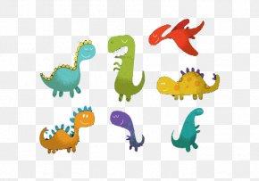Cartoon Dinosaur - Dinosaur Euclidean Vector Cartoon PNG