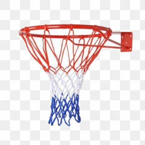 Tricolor Basketball Box - Backboard Basketball NBA Net PNG