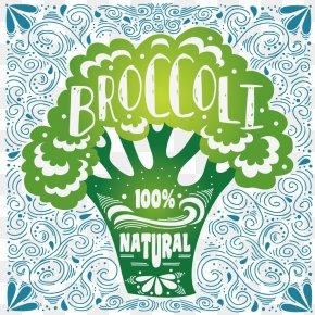 Vegetable Food - Organic Food Broccoli Vegetable Drawing PNG