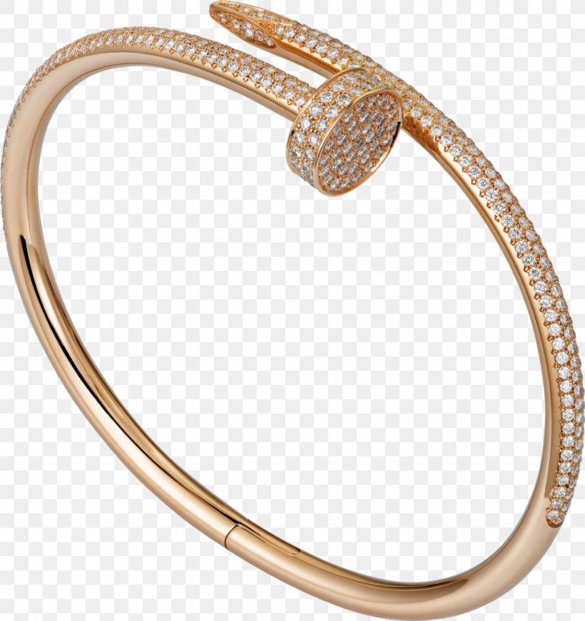 Love Bracelet Cartier Jewellery Colored Gold, PNG, 964x1024px, Bracelet, Bangle, Body Jewelry, Brilliant, Carat Download Free