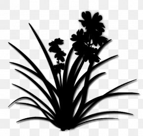 Palm Trees Silhouette Flower Leaf PNG