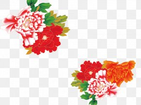Peony - Moutan Peony Download Floral Design PNG