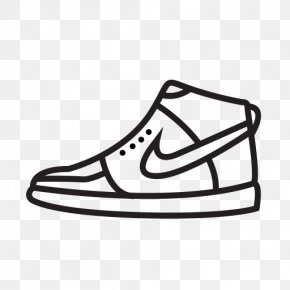 Free High Quality Shoe Icon - Nike Shoe Sneakers Swoosh PNG