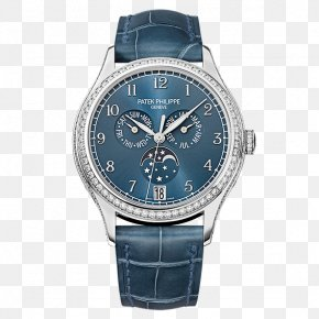 Watch - Patek Philippe & Co. Annual Calendar Complication Automatic Watch PNG