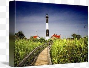 Energy - Fire Island Lighthouse Gallery Wrap Canvas Art PNG
