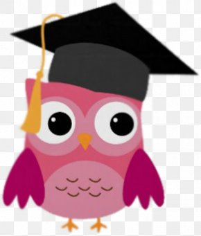 Owl - Graduation Ceremony Owl Square Academic Cap Gift Zazzle PNG
