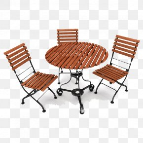 Outdoor Furniture File - Table Garden Furniture Chair PNG