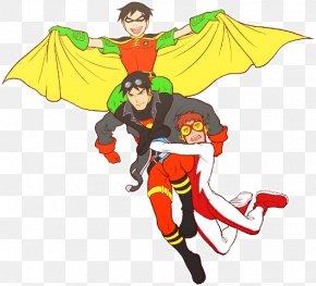 Tim Allen - Robin Superboy Zatanna Beast Boy Young Justice PNG